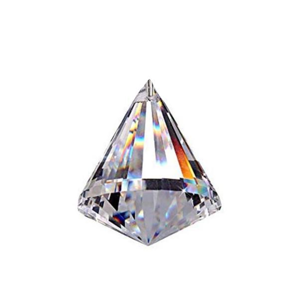 کریستال لوستر مدل الماسی