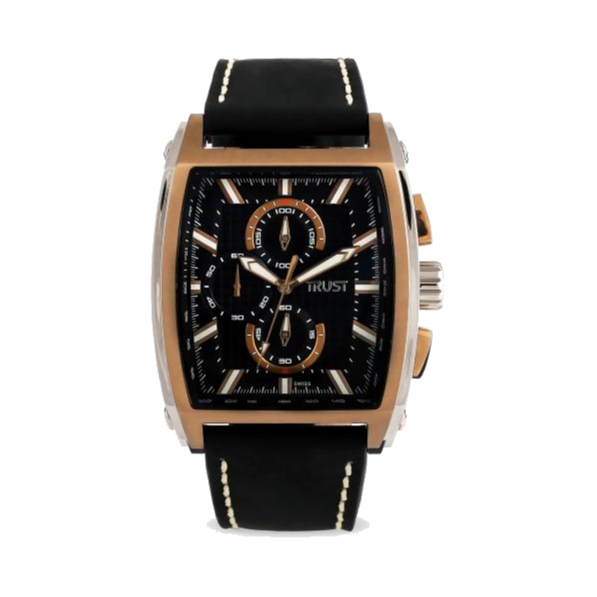 قیمت                      ساعت مچی عقربه ای مردانه تراست مدل G484PVD