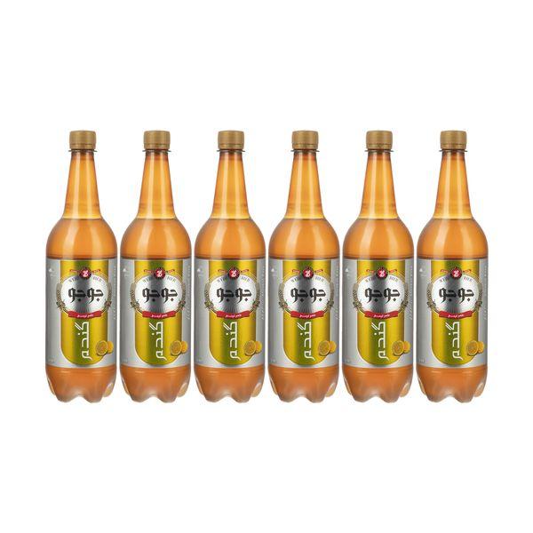 آب گندم جوجو با طعم لیمو - 1 لیتر بسته 6 عددی