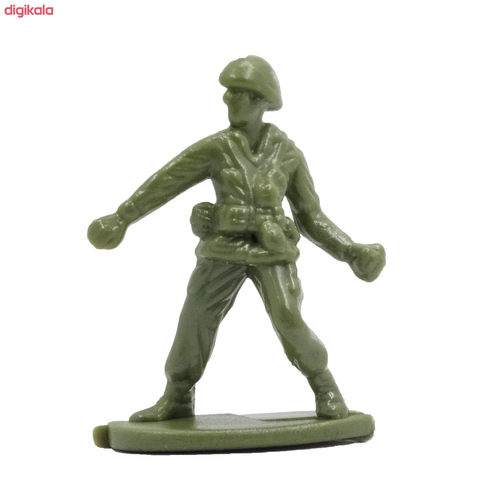 اسباب بازی جنگی مدل پادگان مجموعه 23 عددی main 1 18