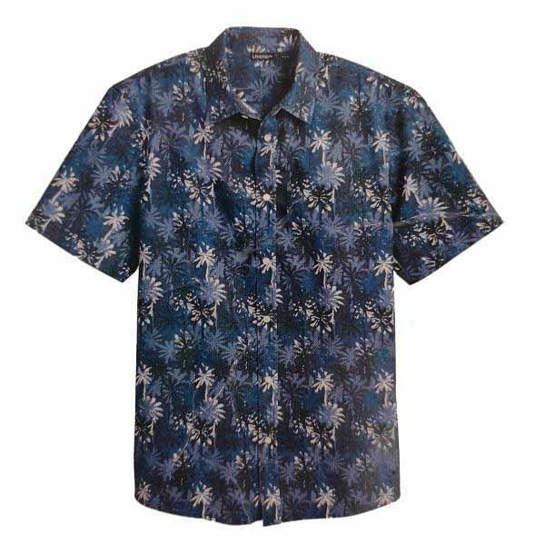 پیراهن آستین کوتاه مردانه لیورجی مدل HN314