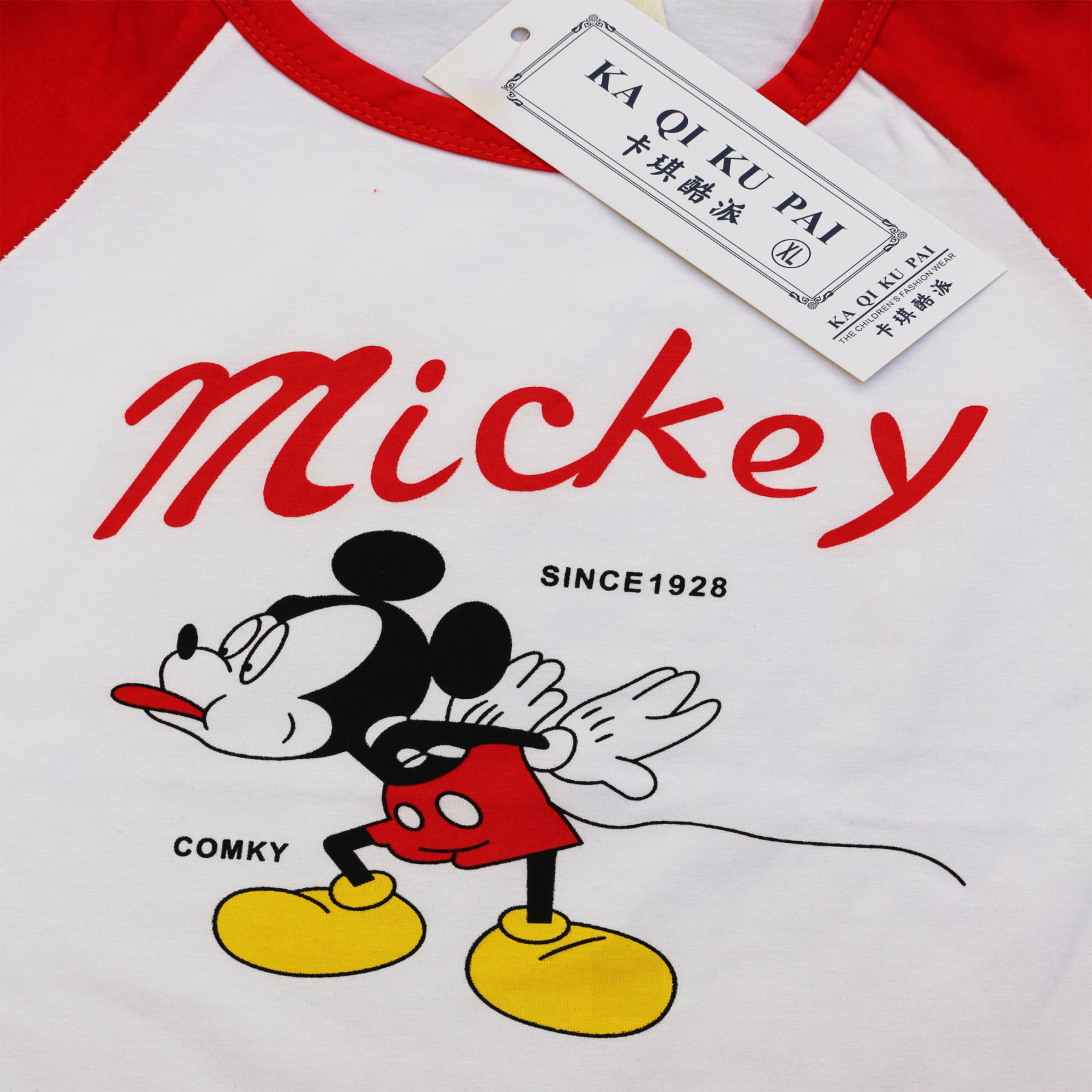 ست تیشرت و شلوارک پسرانه مدل میکی موس کد 136r -  - 5