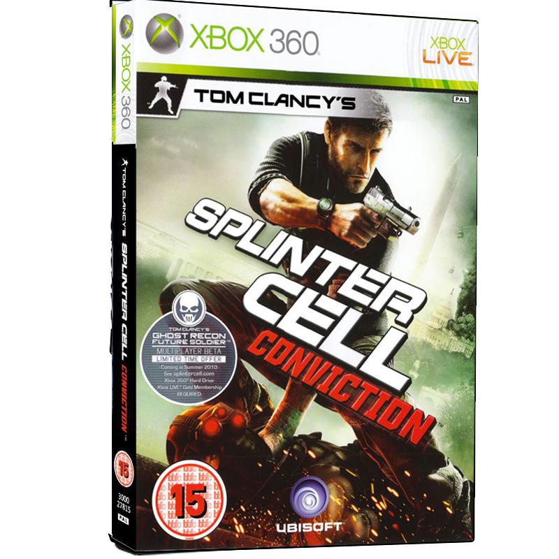بررسی و {خرید با تخفیف}                                     بازی Tom Clancys Splinter Cell Conviction مخصوص Xbox 360                             اصل