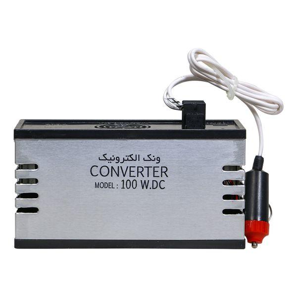 مبدل برق خودرو ونک الکترونیک مدل 100