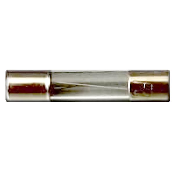 فیوز شیشه ای 3 آمپر مدل 2M بسته 20 عددی