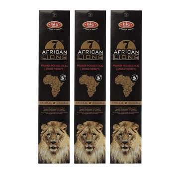 عود خوشبو کننده بیک مدل african lions مجموعه 3 عددی