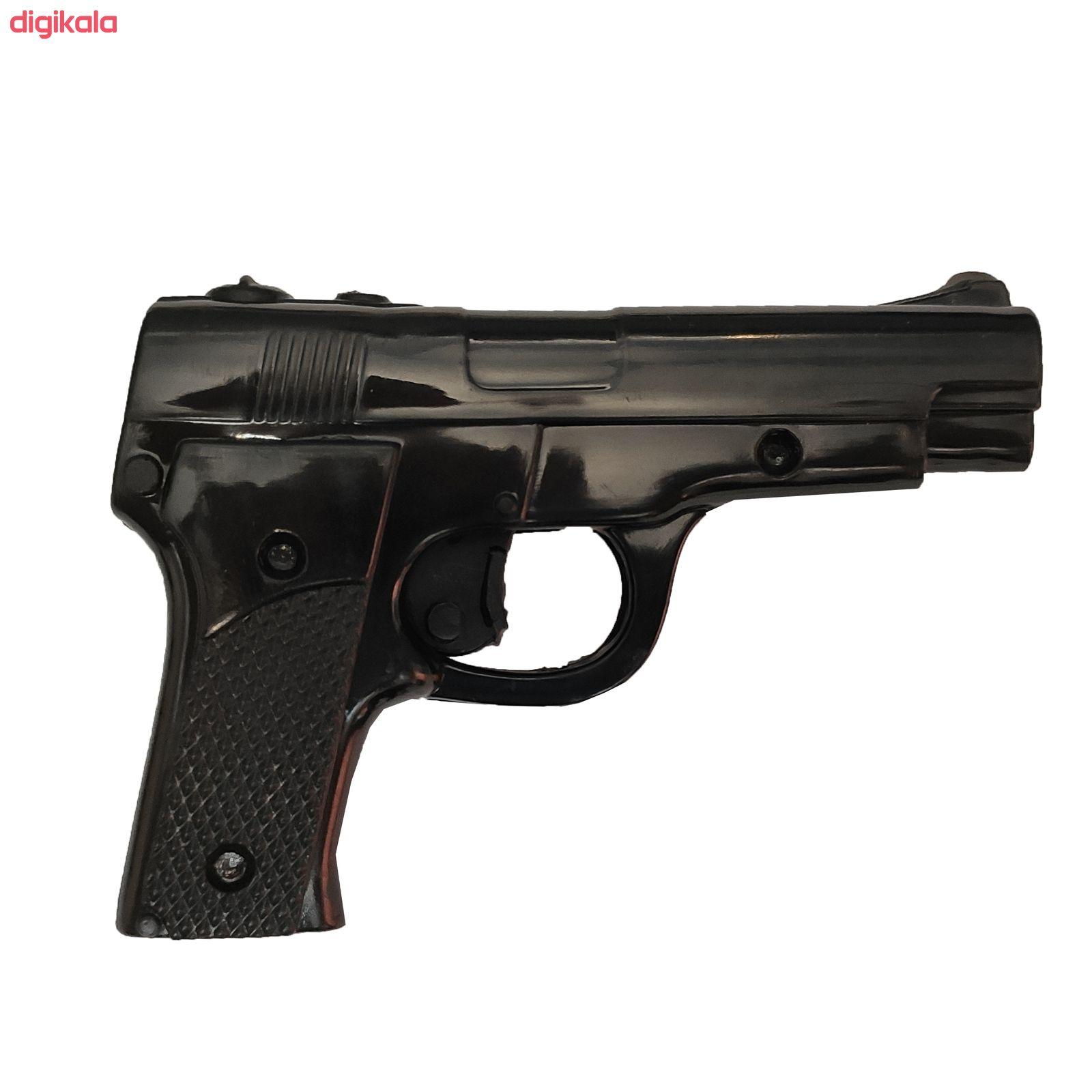 تفنگ بازی مدل پلیس کد p1 مجموعه 11 عددی main 1 1