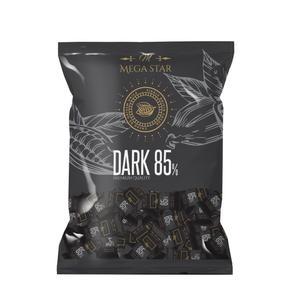 شکلات تلخ 85 درصد مگا استار - 1000 گرم