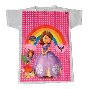تی شرت آستین کوتاه دخترانه مدل سوفیا کد so1