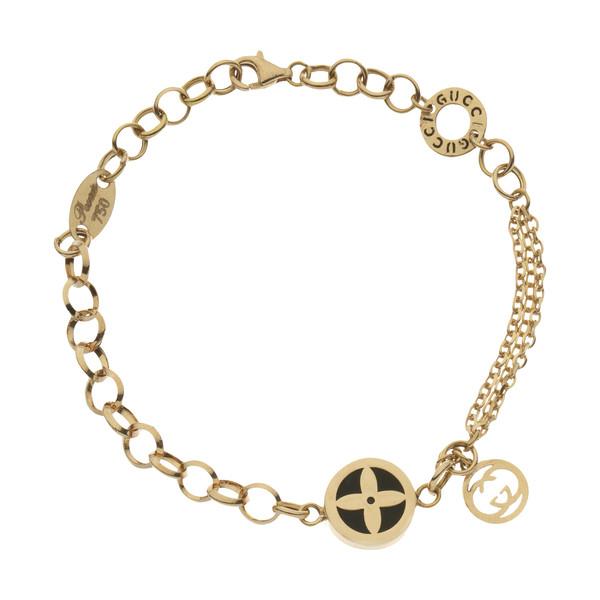 دستبند طلا 18 عیار زنانه مایا ماهک مدل MB1160