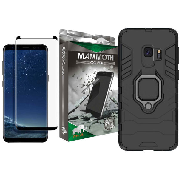 کاور ماموت مدل M-GHB-MGNT مناسب برای گوشی موبایل سامسونگ Galaxy S9 به همراه محافظ صفحه نمایش