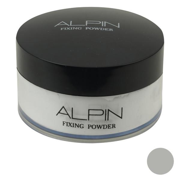 پودر تثبیت کننده آرایش آلپین شماره 00