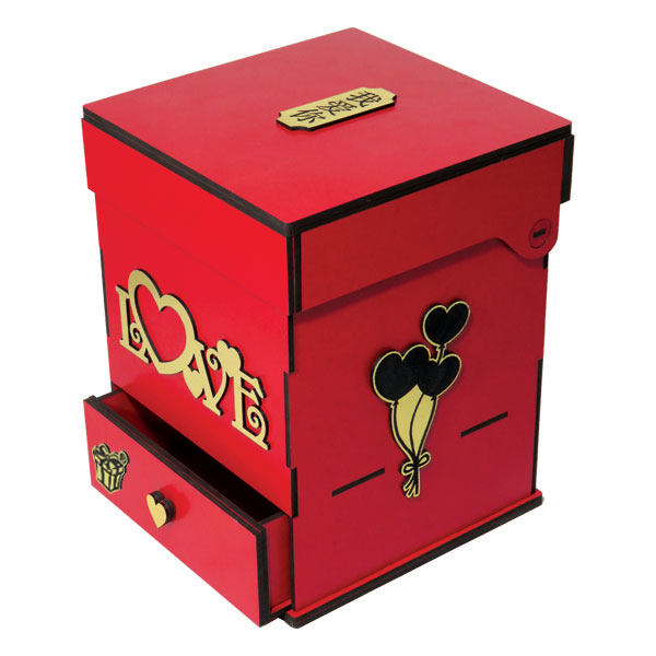 جعبه گل لوکس باکس کد LB201