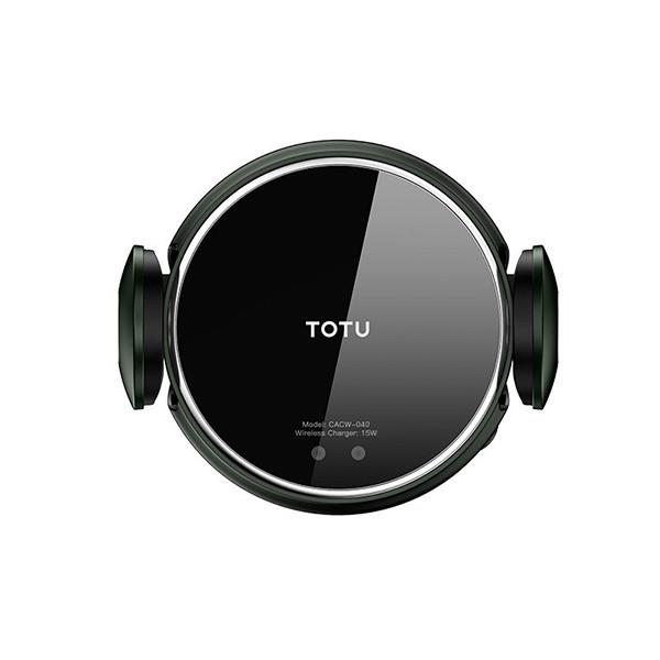 پایه نگهدارنده و شارژر بی سیم گوشی موبایل توتو مدل CACW-040