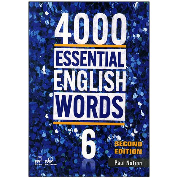 خرید                      کتاب ESSENTIAL ENGLISH WORDS 6 اثر Paul Nation انتشارات زبان مهر