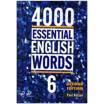 کتاب 4000ESSENTIAL ENGLISH WORDS 6 اثر paul nation انتشارات زبان مهر