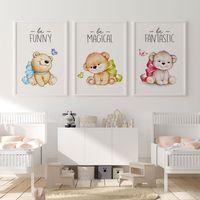 استیکر و تابلو کودک و نوزاد,استیکر و تابلو کودک و نوزاد سالی وود