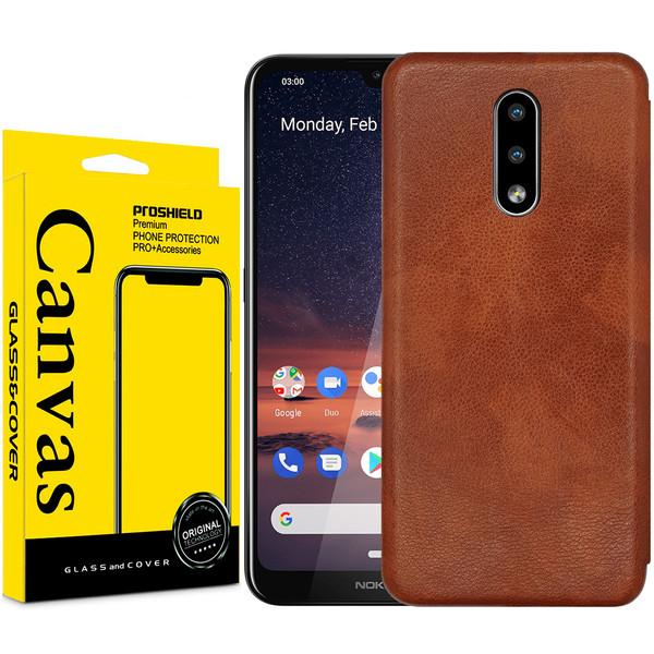 کیف کلاسوری کانواس مدل MAX SERIES مناسب برای گوشی موبایل نوکیا 2.3