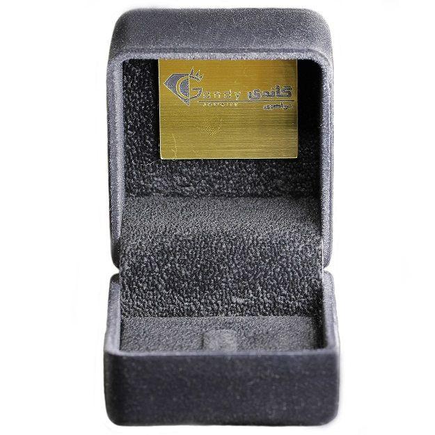 انگشتر طلا 18 عیار زنانه جواهری گاندی مدل A4656 -  - 4