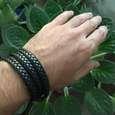 دستبند مردانه مدل He314 thumb 1