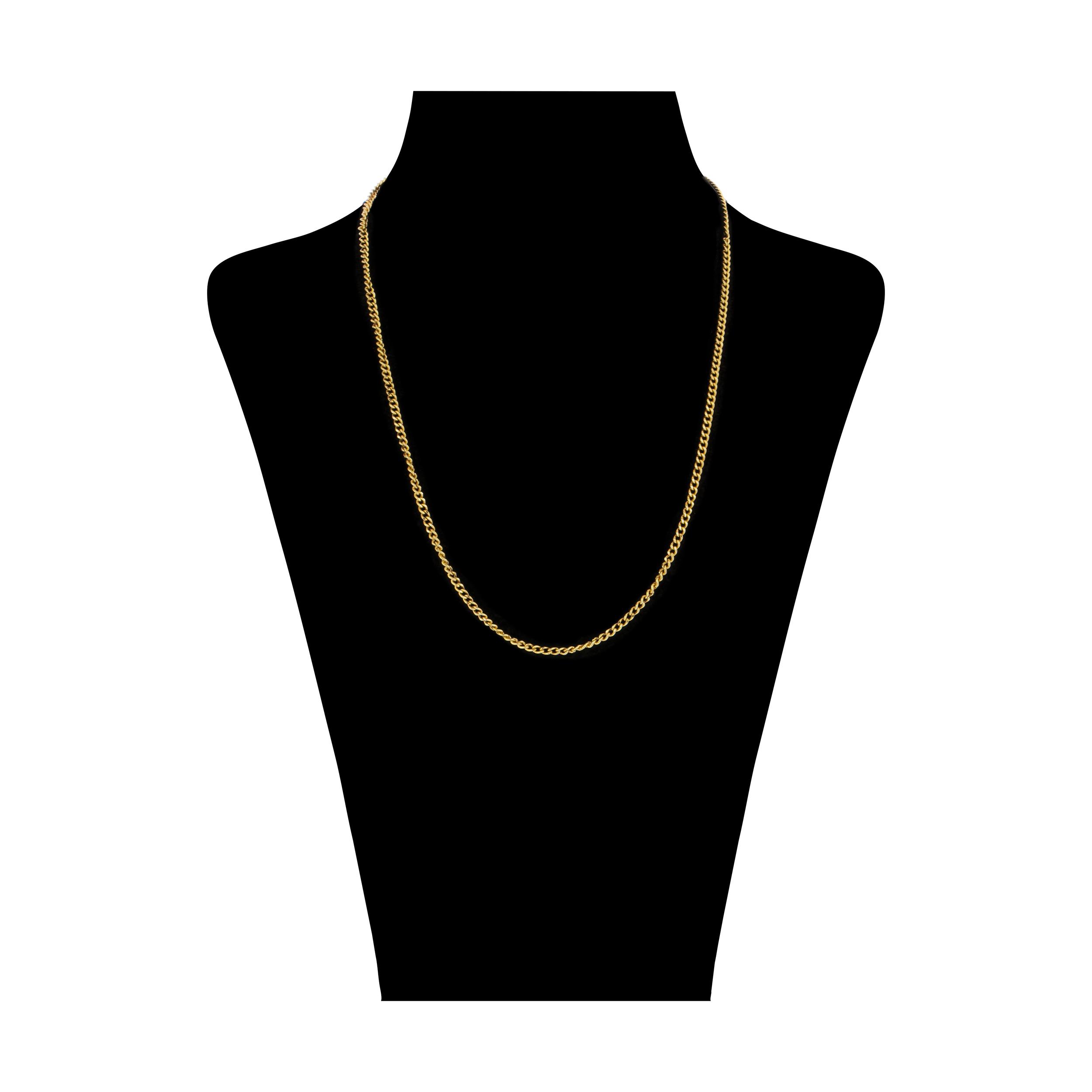 زنجیر طلا 18 عیار زنانه میو گلد مدل GD923