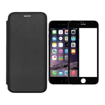 کیف کلاسوری وورلد ویو مدل WMGMT-WGF-1 مناسب برای گوشی موبایل اپل iPhone 6/6S به همراه محافظ صفحه نمایش