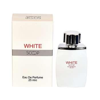 عطر جیبی مردانه اسکوپ مدل WHITE حجم 25 میلی لیتر