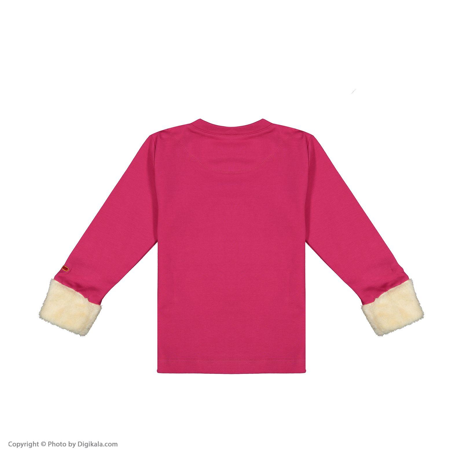 ست تی شرت و شلوار دخترانه مادر مدل 312-66 main 1 3