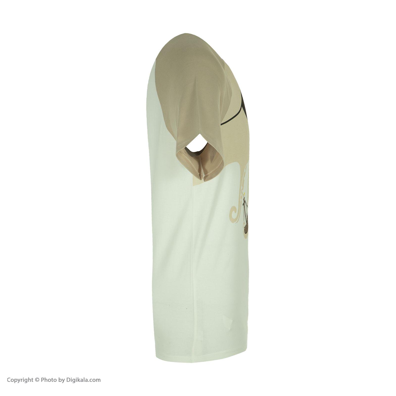ست تی شرت و شلوارک راحتی مردانه مادر مدل 2041107-07 -  - 5