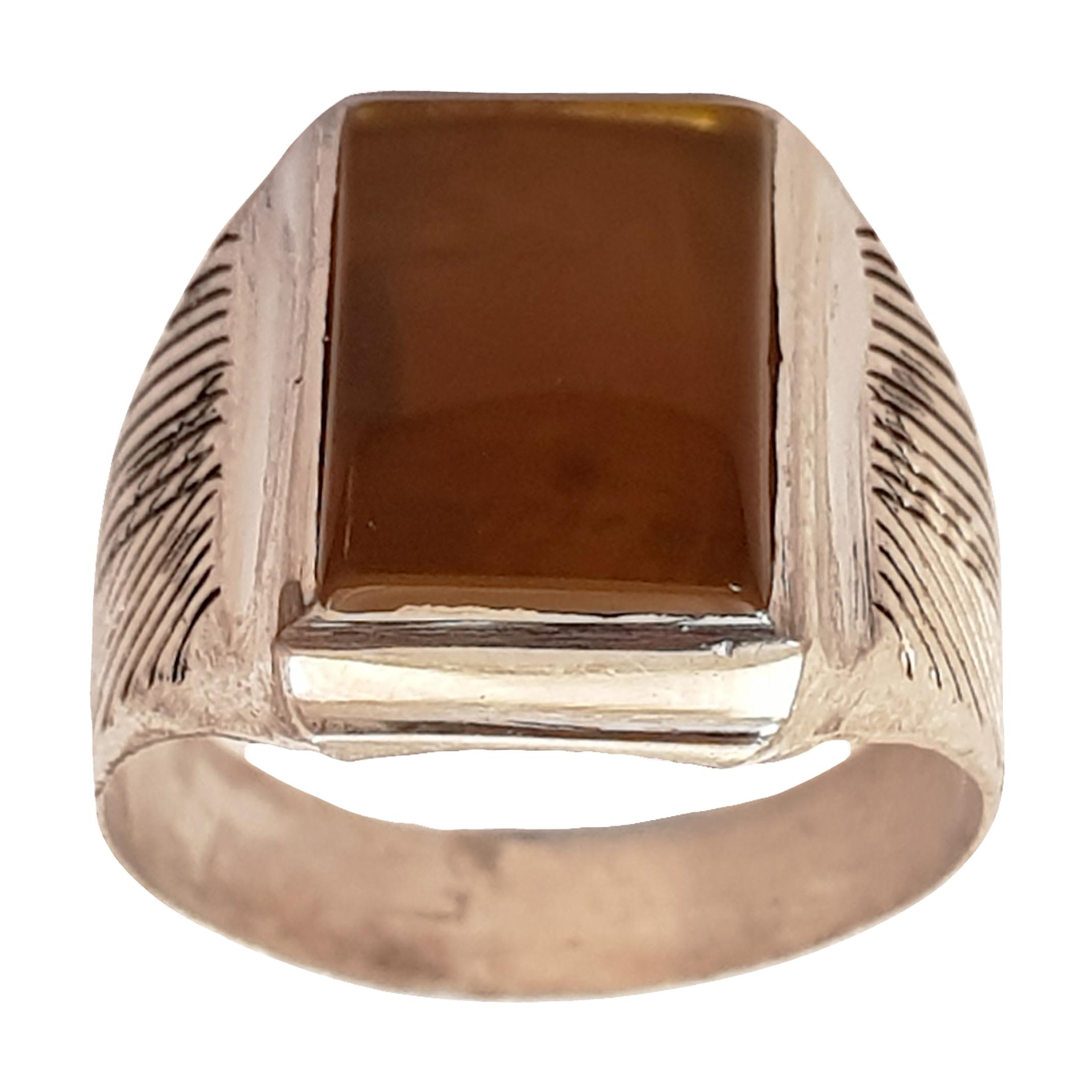 انگشتر نقره مردانه سلین کالا مدل ce-3