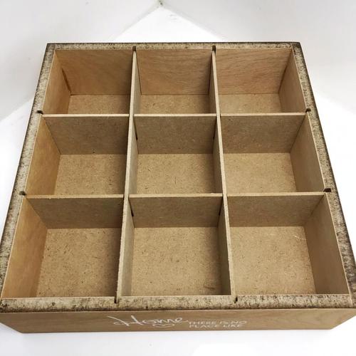 جعبه چای کیسه ای طرح هوم کد CH09