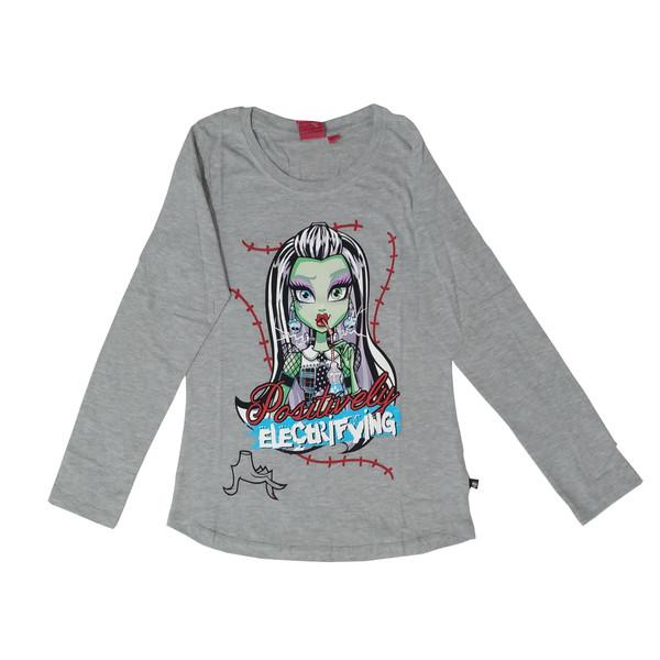 تی شرت آستین بلند دخترانه مانستر های مدل 11-17-131