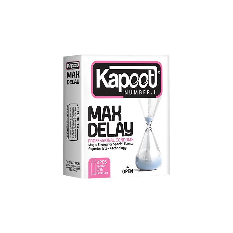 کاندوم کاپوت مدل Max Delay بسته 3 عددی