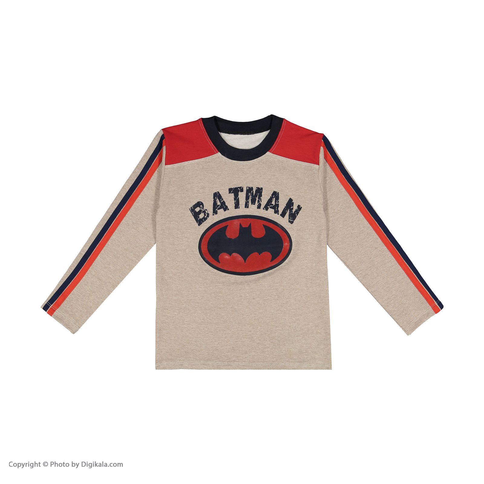 ست تی شرت و شلوار پسرانه سیدونا مدل KSI6003-031 -  - 3