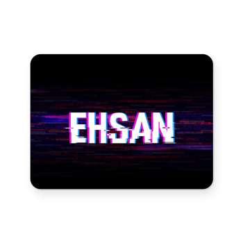 برچسب تاچ پد دسته پلی استیشن 4 ونسونی طرح Ehsan