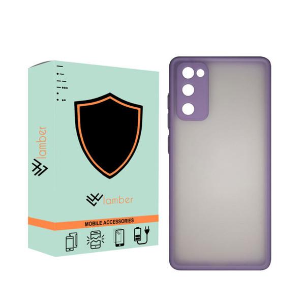 کاور لمبر مدل LAMPMC-1 مناسب برای گوشی موبایل سامسونگ Galaxy s20 FE