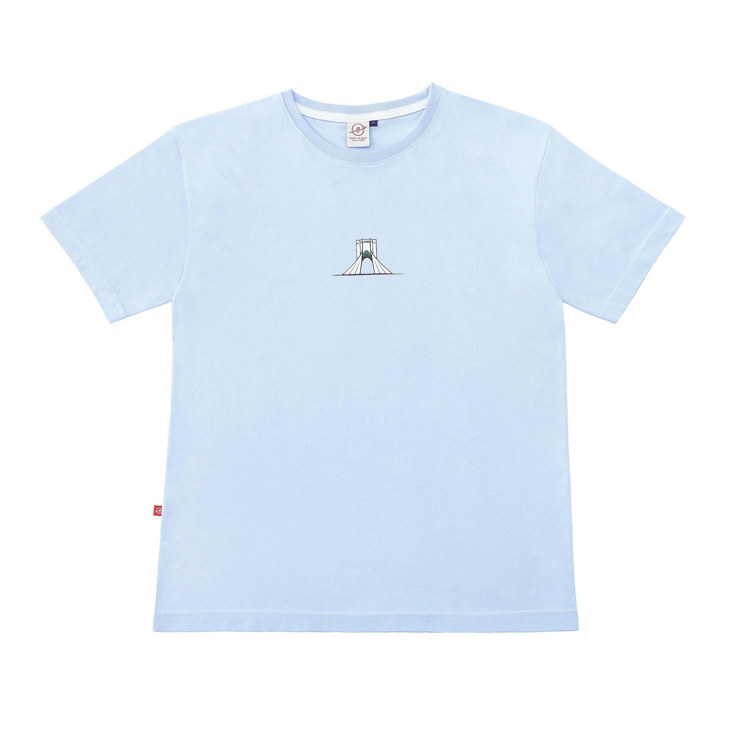 تی شرت آستین کوتاه زنانه تچر مدل آزادی