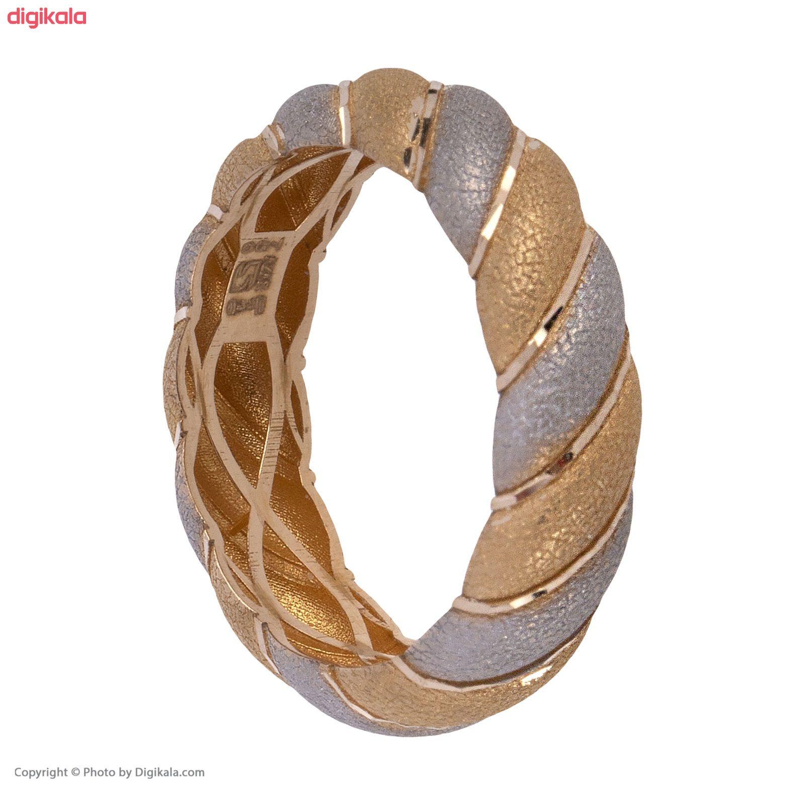 انگشتر طلا 18 عیار زنانه گالری یارطلا کد ANF20 main 1 3