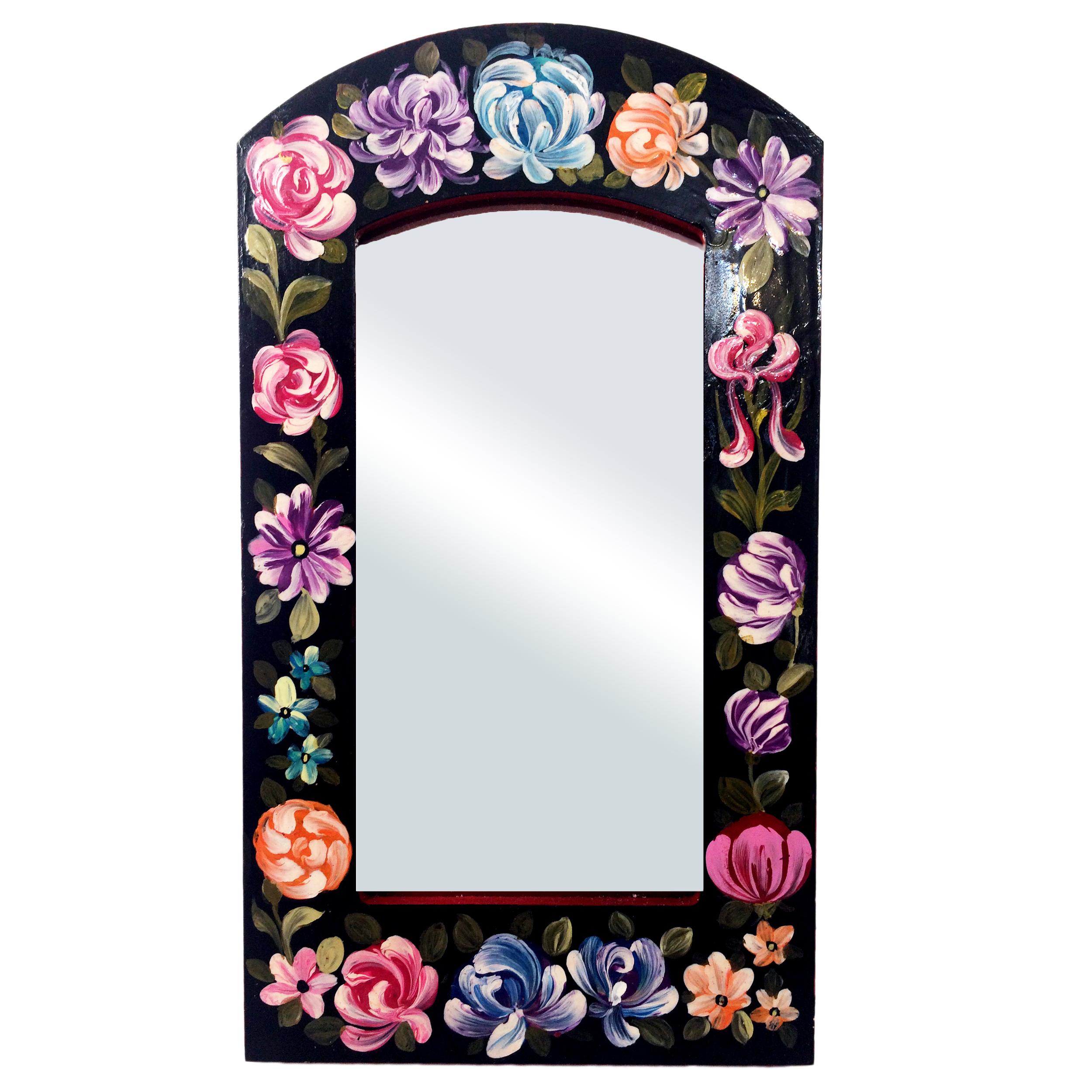 خرید                      آینه مدل گل و مرغ کد 005