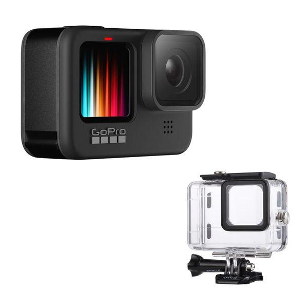 دوربین فیلم برداری ورزشی گوپرو مدل HERO 9 Black به همراه کاور