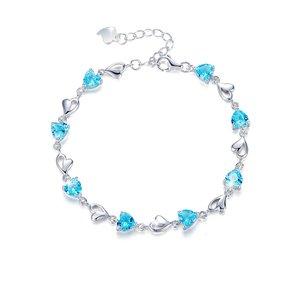 دستبند نقره زنانه کوبیک کد QB-0302