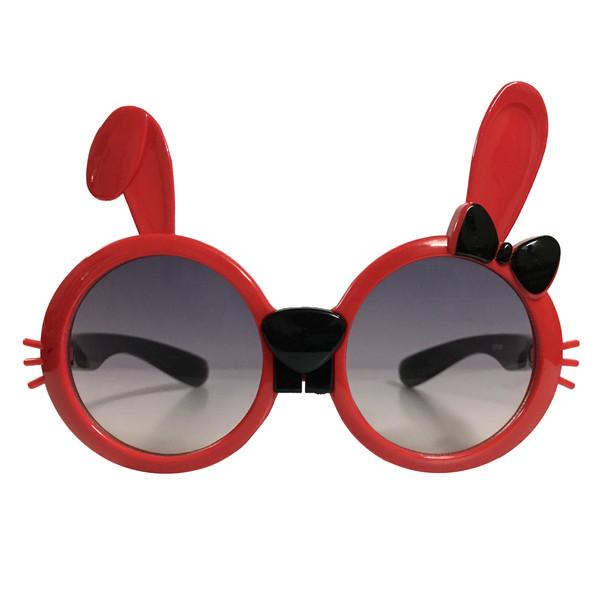 عینک آفتابی بچگانه طرح خرگوش کد KD61006