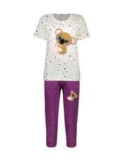 ست تی شرت و شلوارک راحتی زنانه مادر مدل 2041103-67 -  - 1