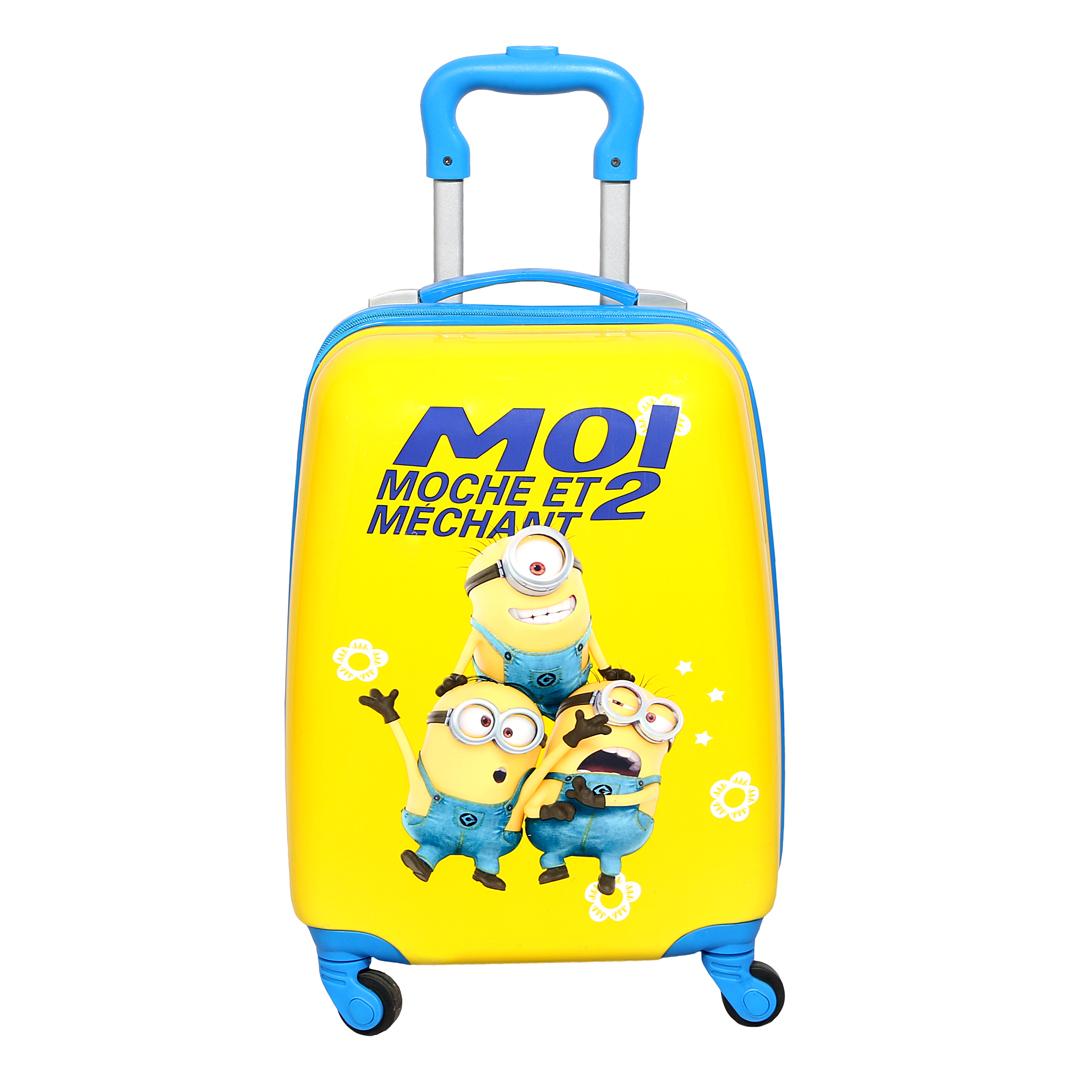 چمدان کودک مدل مینیون کد 3043
