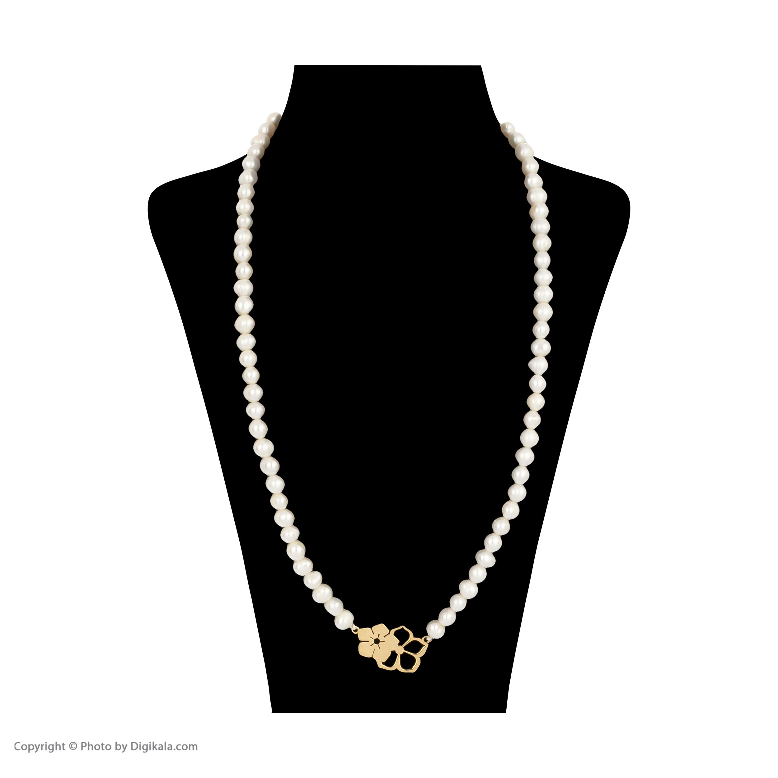 گردنبند طلا 18 عیار زنانه میو گلد مدل GD621 -  - 3