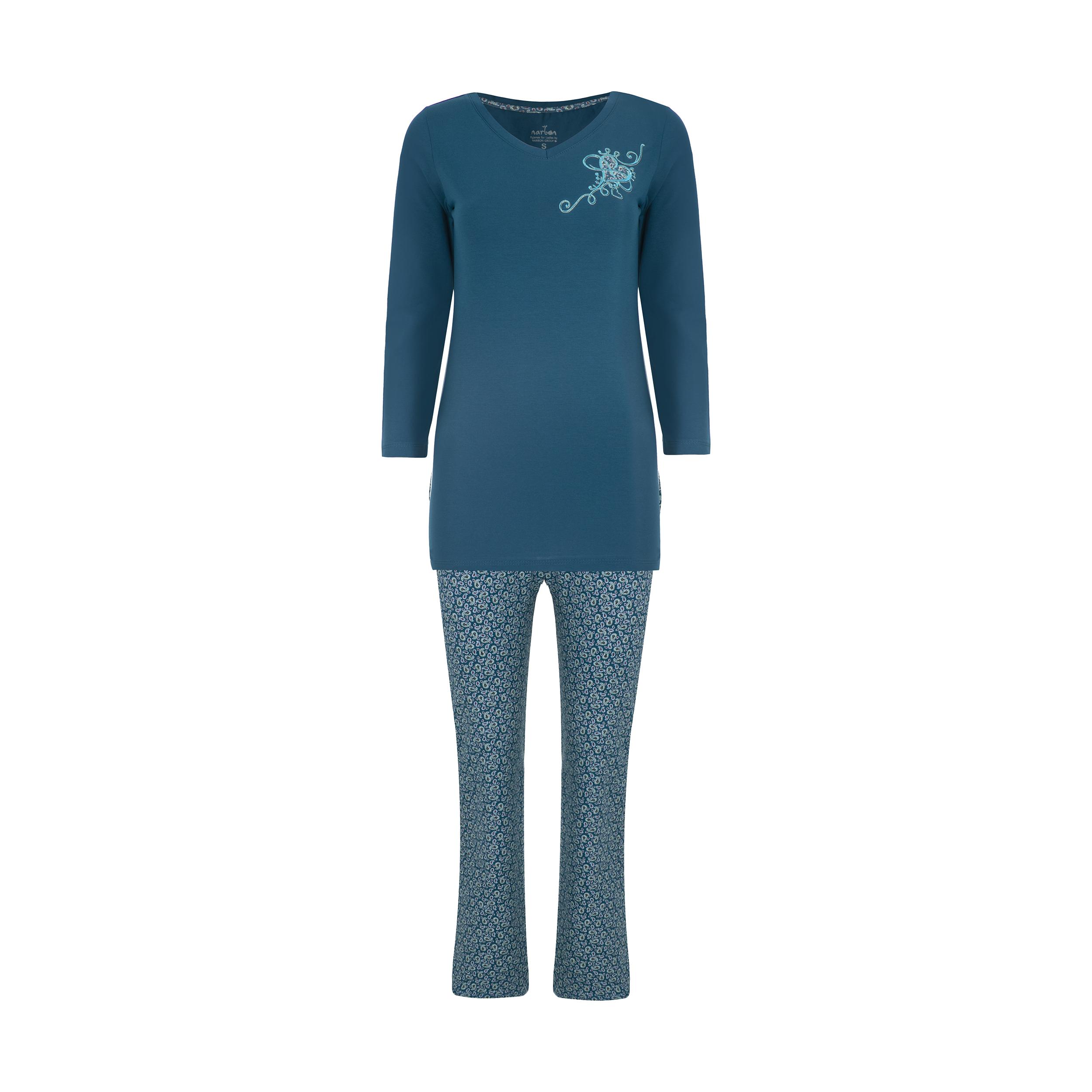 ست تی شرت و شلوار راحتی زنانه ناربن مدل 1521248-54