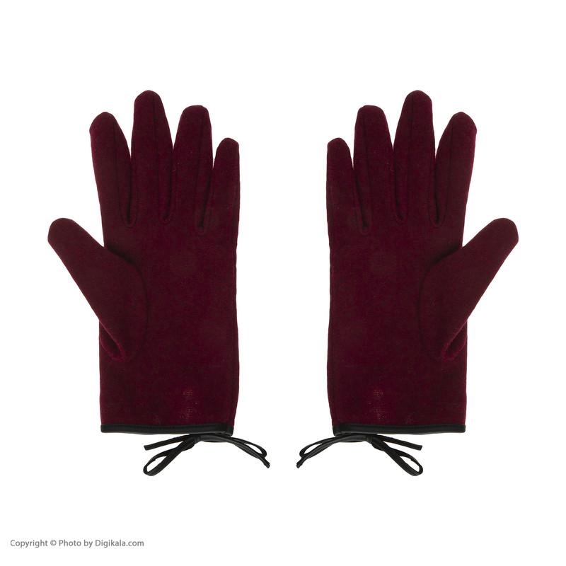 دستکش زنانه کالینز مدل CL1030551 BURGUNDY