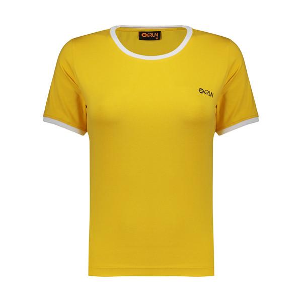 تی شرت ورزشی زنانه بی فور ران مدل 21032515