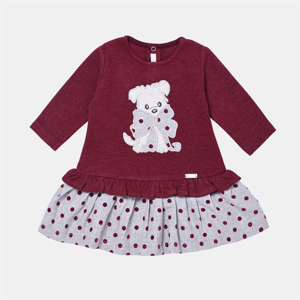 پیراهن دخترانه فیورلا مدل  خرس خالدار  کد 31515