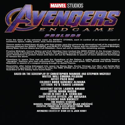 مجله Marvels Avengers Endgame Prelude 3 فوریه 2019